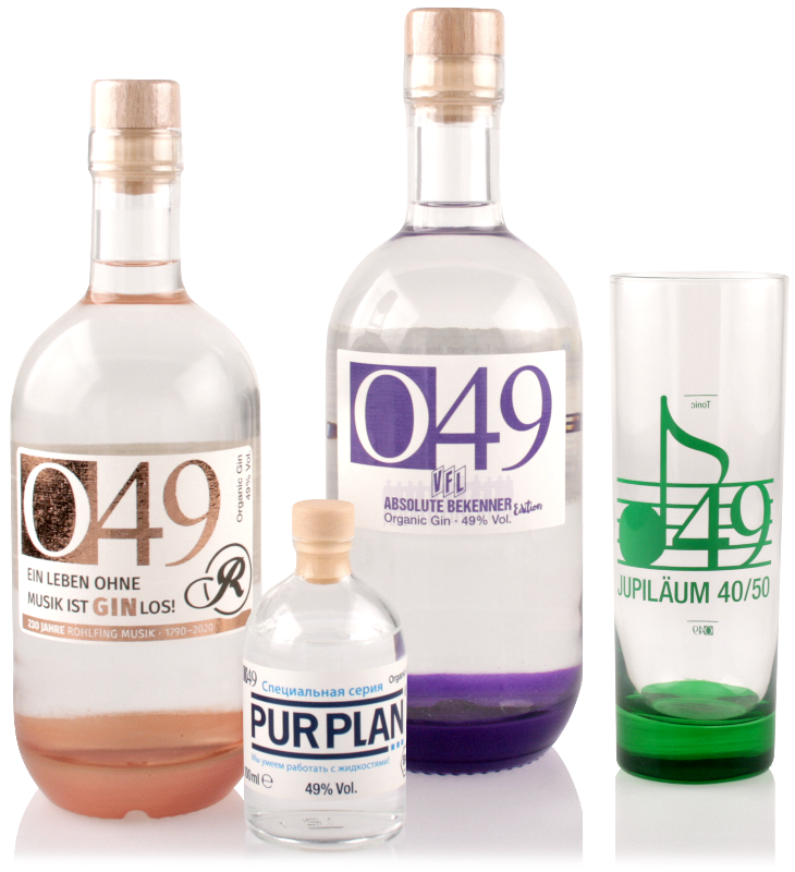 O49 ORGANIC GIN - Special Editions